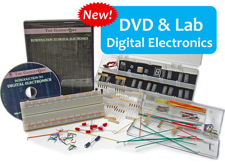 New Digital Electronics DVD course with lab