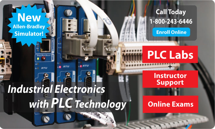 Industrial Electronics With PLC Technology Distance Learning