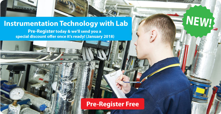 Instrumentation Technology with Lab distance learning course.